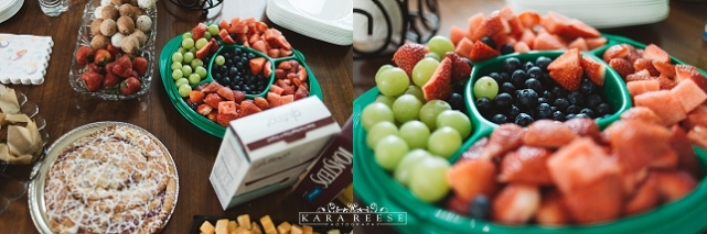 snacks for bridal party
